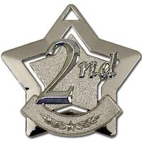 Mini 2nd Place Star Medal</br>AM712